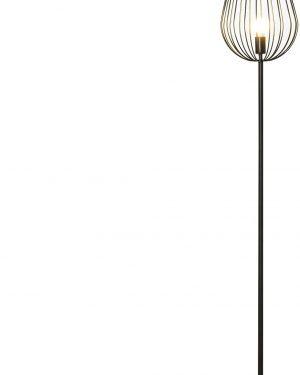 Lampada da terra, design industriale - HomCom